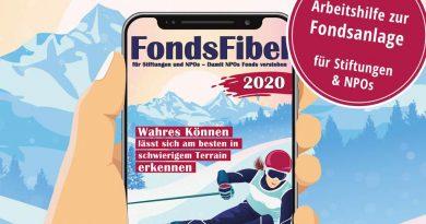 Vermögensanlage für Stiftungen FondsFibel
