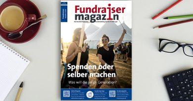 Junge Menschen: Spender oder Macher?