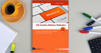 Fachbuch 150 kreative Webinar-Methoden