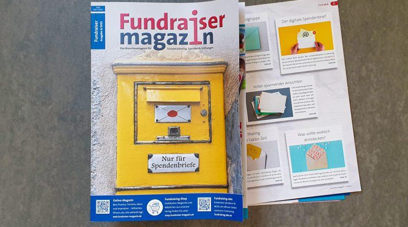 Fundraiser-Magazin 6/2020