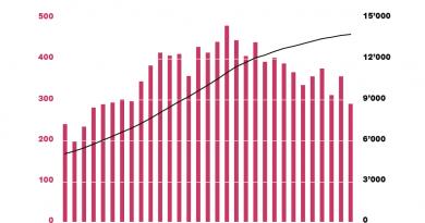 Grafik Schweizer Stiftungsreport 2021