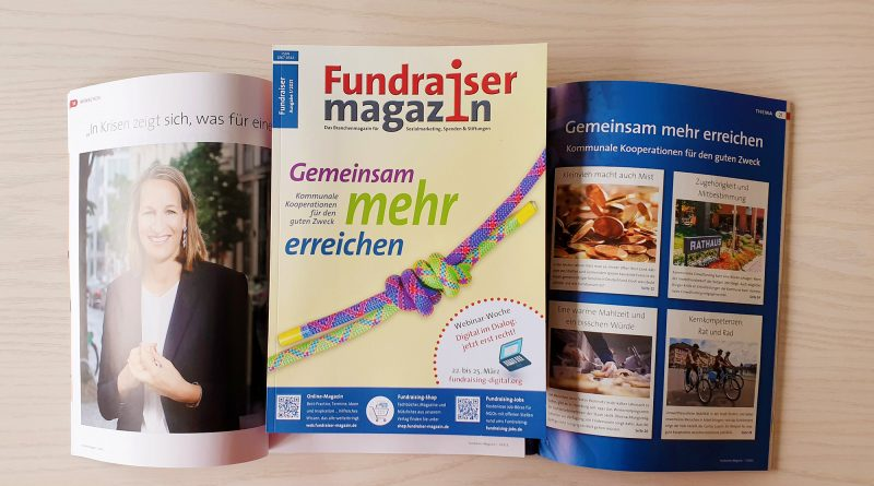 Fundraiser-Magazin 1/2021