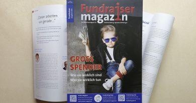 Fundraiser-Magazin 3/2021
