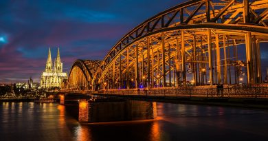 Köln Dom und Brücke