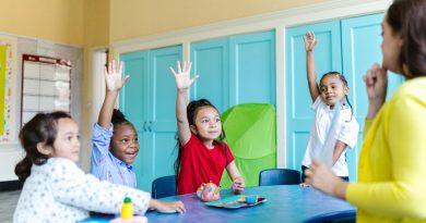 Kinder in der Grundschule