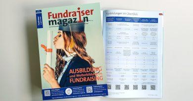 Fundraiser-Magazin 04-2021 Aus- und Weiterbildung
