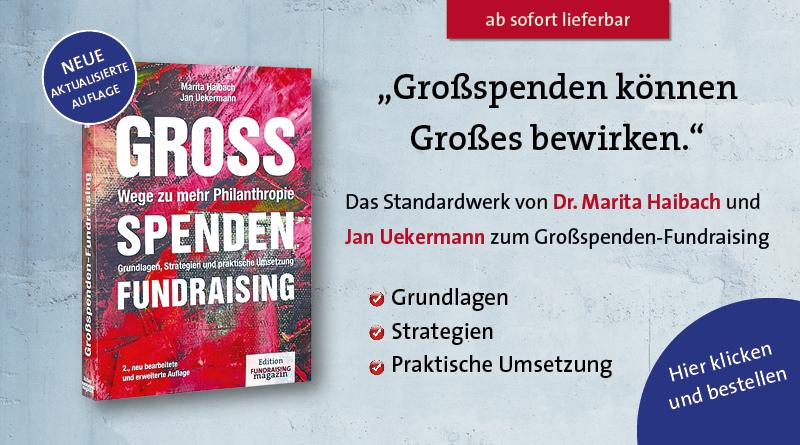 Grossspenden-Fundraising-Buch