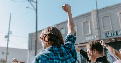 Teilnehmer an einer Demonstration